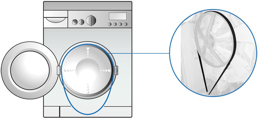 Senti funzionare il motore della tua lavatrice ma il for Cestello lavatrice