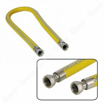 Tubo gas inox 1 m attacco f f uniring cod 00110140 - Tubo gas cucina lunghezza massima ...