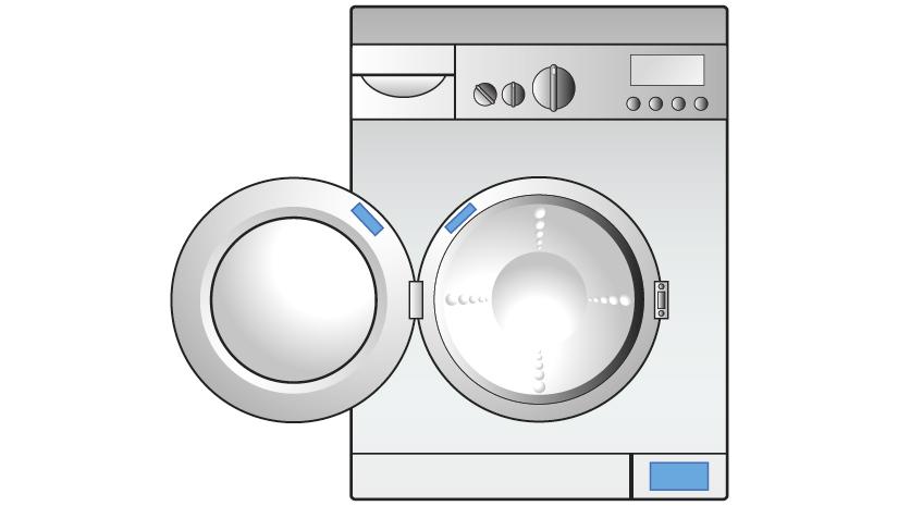 Trova il nome del modello e il codice seriale della tua - Interruttore lavatrice ...