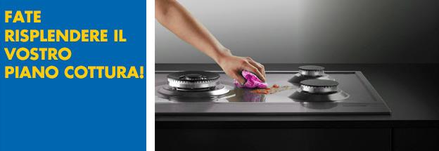 Consigli per la pulizia del piano cottura