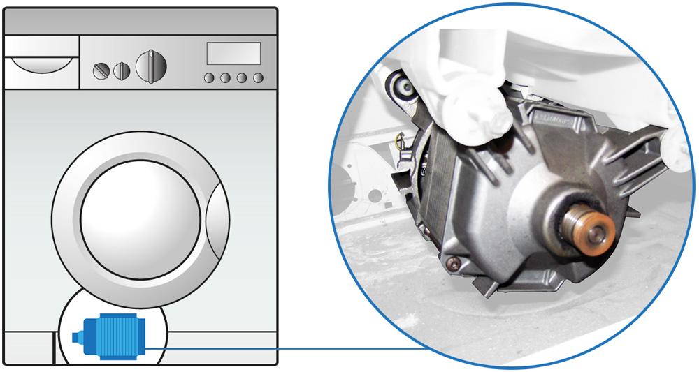 Una volta che la tua lavatrice ha caricato l 39 acqua il for Motore inverter lavatrice