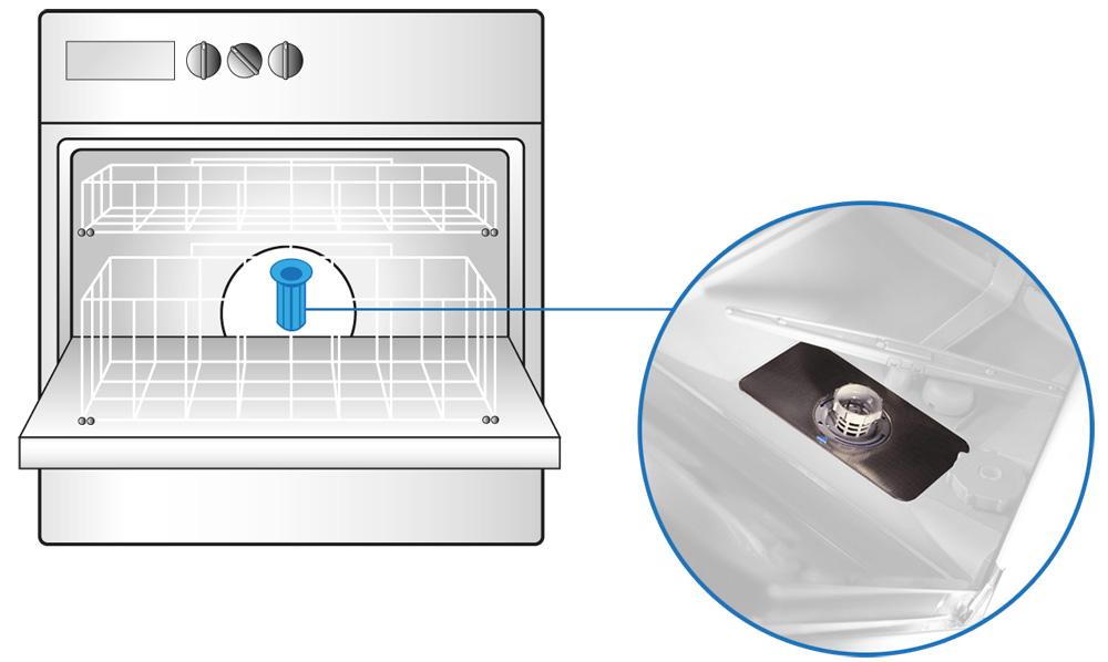 pulizia e manutenzione del filtro della lavastoviglie