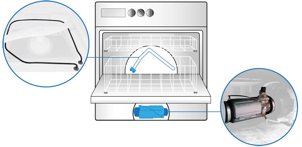 La tua lavastoviglie lava con acqua fredda for La lavastoviglie