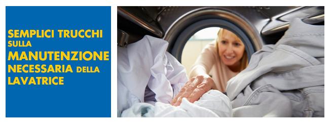Manutenzione primaverile della lavatrice for Manutenzione lavatrice